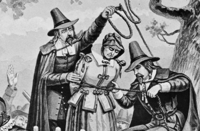 Как на самом деле казнили салемских ведьм?